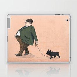 A Man with a Dog Laptop & iPad Skin