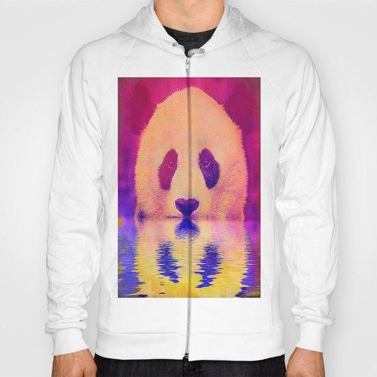 Pink Panda Hoody