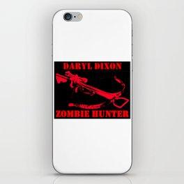 Daryl Dixon- Zombie Hunter iPhone Skin