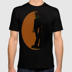 The Monster Is Loose! Mens Fitted Tee Black MEDIUM
