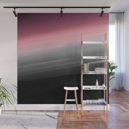Pink to Gray Smooth Ombre Wall Mural