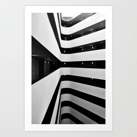 Level Up Art Print