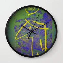 wth? man Wall Clock