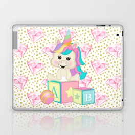 Baby Unicorn Laptop & iPad Skin