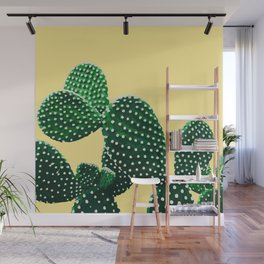 Prickly Plant ( yellow ) Wall Mural