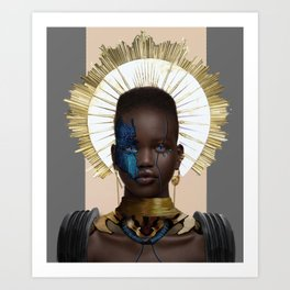 The ArcAndroid Art Print