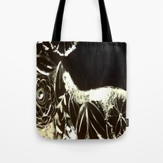 White Ink Tote Bag