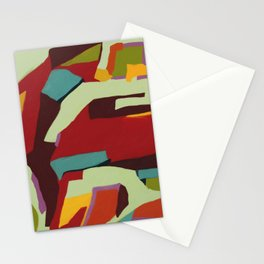 Never-ending Abstract Art Stationery Cards