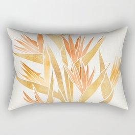 Tropical Bird of Paradise Rectangular Pillow