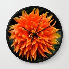 very orange Wall Clock