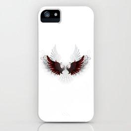 Black Wings iPhone Case