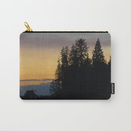 Dusk at the Hoh river Carry-All Pouch