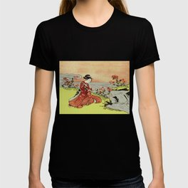 Transformation of Kikujido - Vintage Japanese Woodblock T-shirt