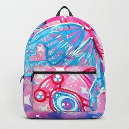 Pink Praying Mantis Backpack