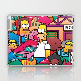 The Simpson Laptop & iPad Skin