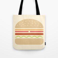 #62 Hamburger Tote Bag