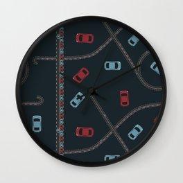 Traffic pattern Wall Clock
