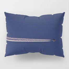 Jet and Contrail Pillow Sham