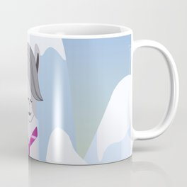 Lama Hipster Design Coffee Mug