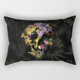 Spring Skull Rectangular Pillow