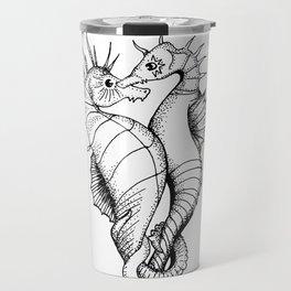 Seahorses - the love Travel Mug