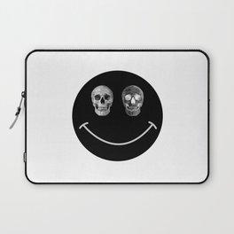 Just keep smiling Laptop Sleeve