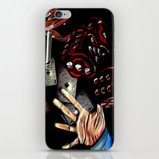 Rollin (black/red) iPhone & iPod Skin