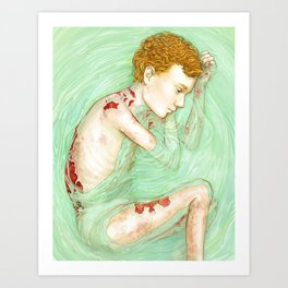Butterfly Child Art Print