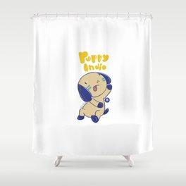 PUPPY INDIO Shower Curtain