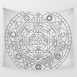 Hermetic Principles Wall Tapestry
