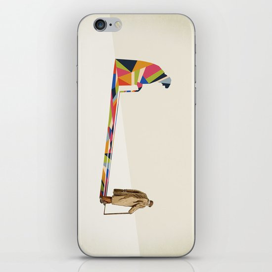 Walking Shadow, Old Man iPhone & iPod Skin