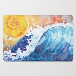 Ocean Wave Cutting Board