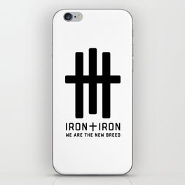 We Are The New Breed iPhone Skin