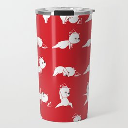Yoga Bear - Polar Bear Travel Mug