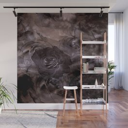 Shadows of Roses & Clouds Wall Mural