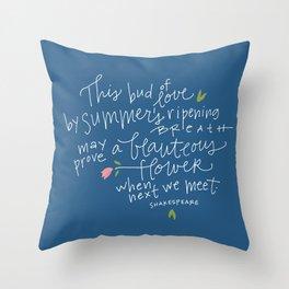 Juliet+Romeo Throw Pillow
