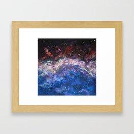 Nebula III Framed Art Print