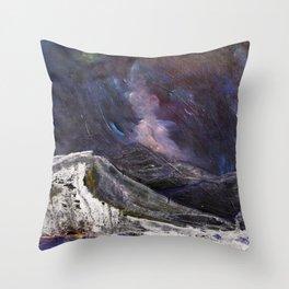 Northern Mountain Throw Pillow