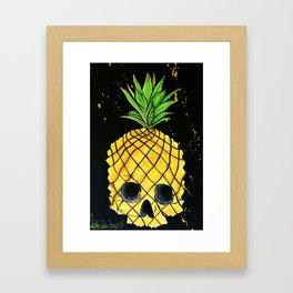 Skullpine Framed Art Print