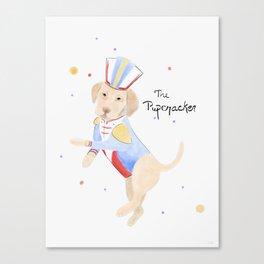 The Pupcracker Canvas Print
