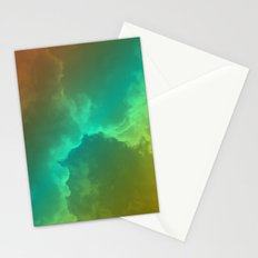 Bright Clouds Stationery Cards