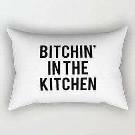 Bitchin' In The Kitchen Rectangular Pillow