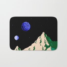 Twin Moons World Bath Mat