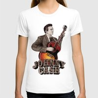 johnny cash T-shirts featuring Johnny Cash by Daniel Cash