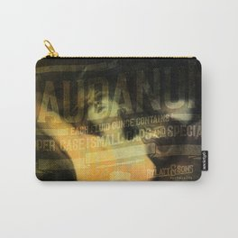 Laudanum, Vintage Advertisement Collage Carry-All Pouch