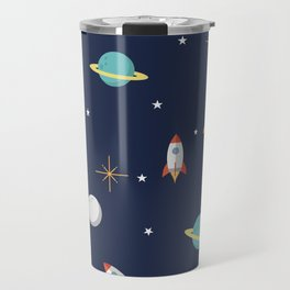 Space Pattern Travel Mug