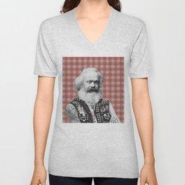 Punk Marx Unisex V-Neck