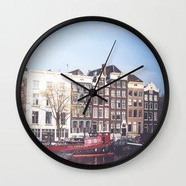 Dutch Architecture Wall Clock