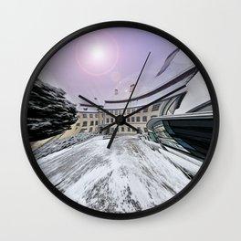Castle Grosslaupheim Wall Clock