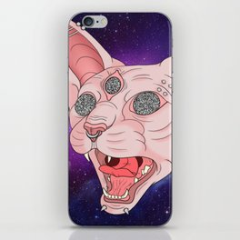 Cats in Space iPhone Skin
